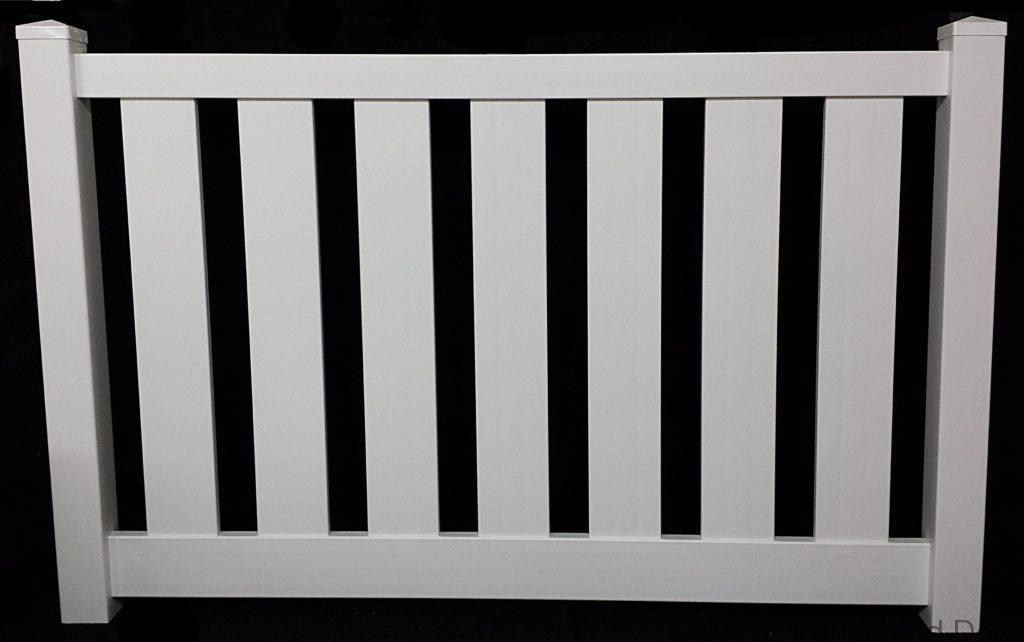 vinyl semi privacy fence Carlton